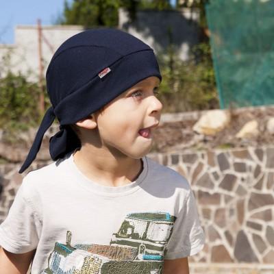 Bavlněný šátek z úpletu - pirát