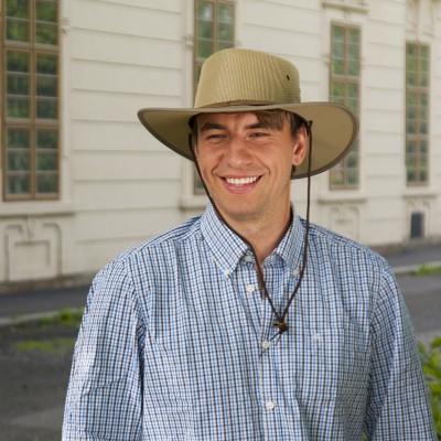 Pánský australský klobouk se šňůrkou