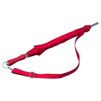 Holový deštník Holiday- červený
