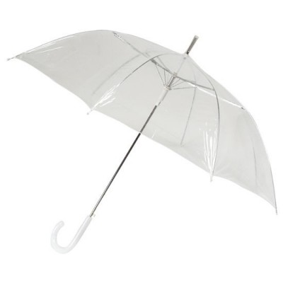 průhledný deštník Clear