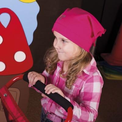 Dívčí bavlněný šátek s aplikací