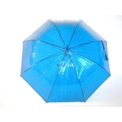 průhledný deštník Clear Colours -varianta modrá