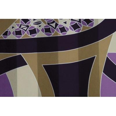 dámský šátek šifon vzorovaný 90x90