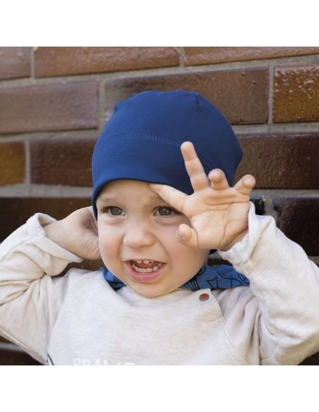 Hugo úpletová čepice jednobarevná hladká