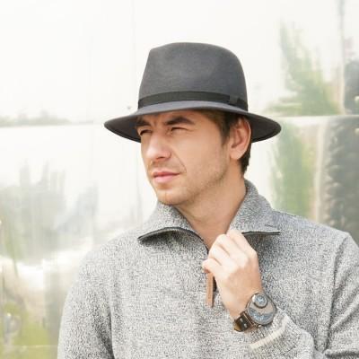 Plstěný pánský klopený klobouk