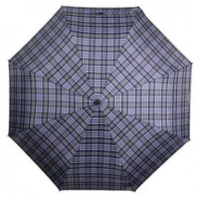 pánský skládací deštník SENATOR - LUX - modrý