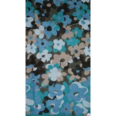 Dámský vzorovaný šátek polyvlna 45x160
