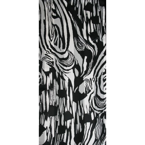 Dámská šálka vzorovaná s pruhy 36x160