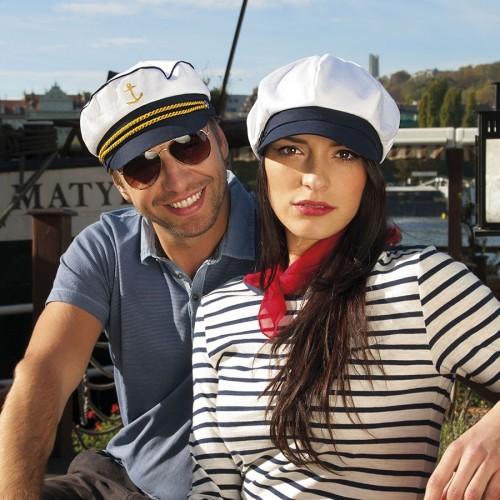Unisex námořnická kapitánka