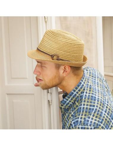 Unisex papírový klobouk s malou krempou