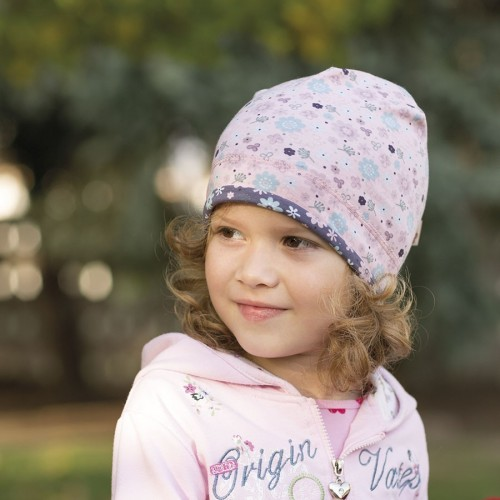 Bavlněná čepice s lemem