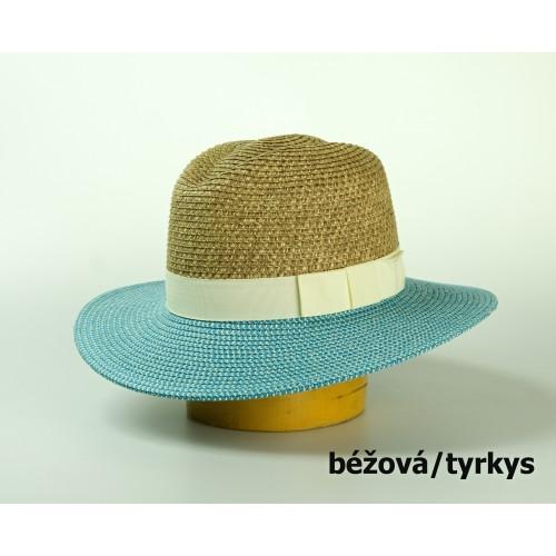 Dámský papírový klobouk pánského stylu