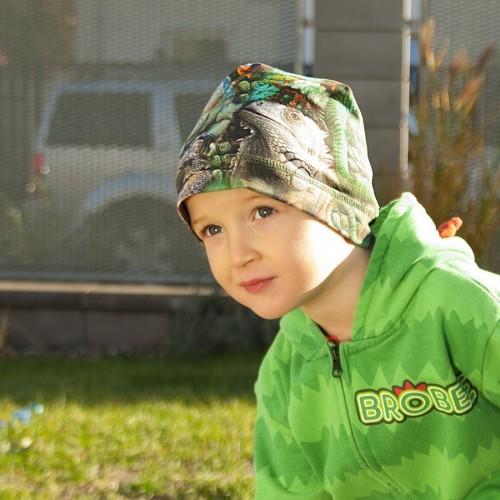 Dětská bavlněná čepice