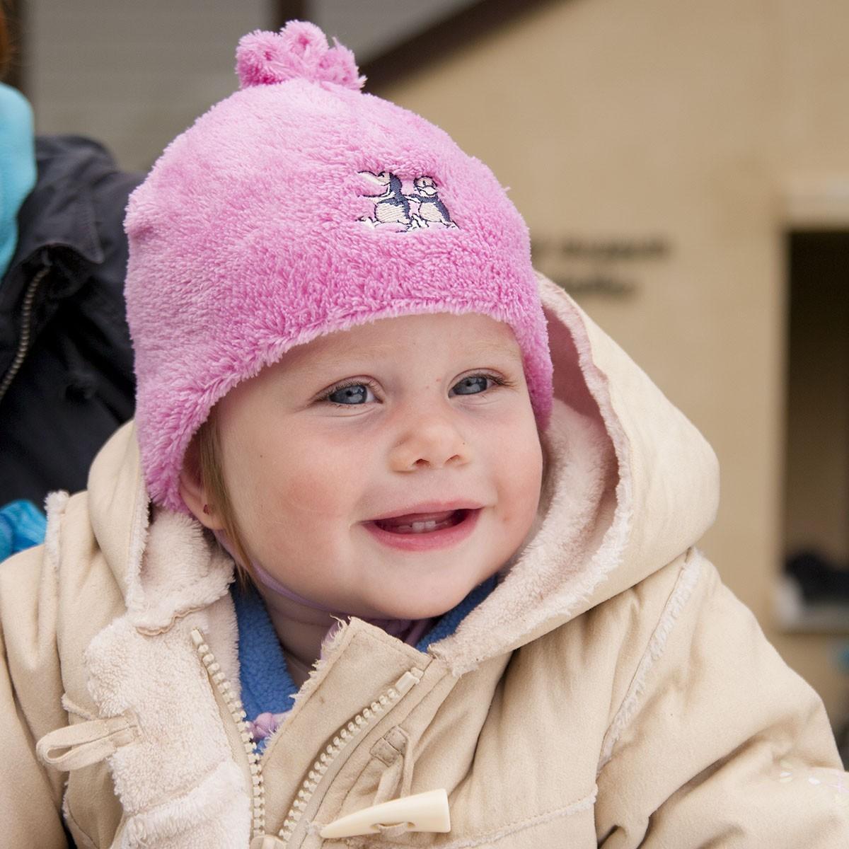 Dětská fleece čepice podšitá bavlnou