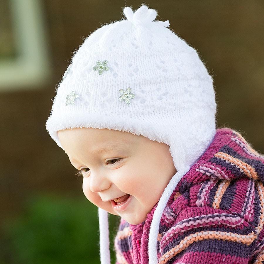 Pletená čepice s podšívkou