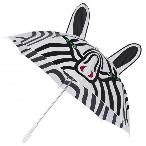 Dětský holový deštník ZEBRA