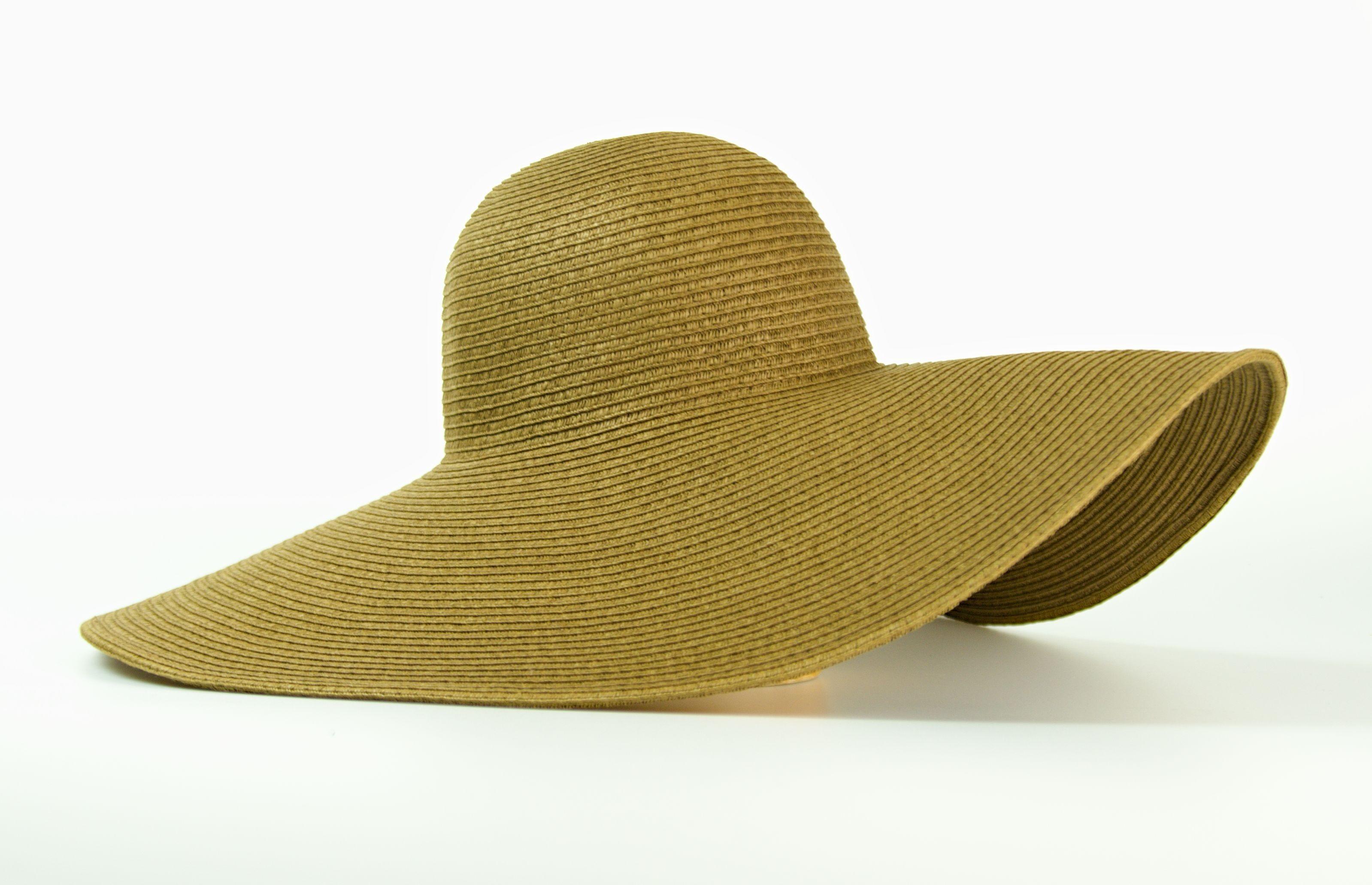 Dámský klobouk se širokou krempou