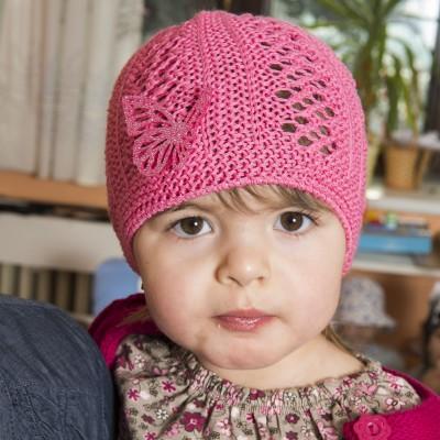 dívčí pletená síťka s aplikací