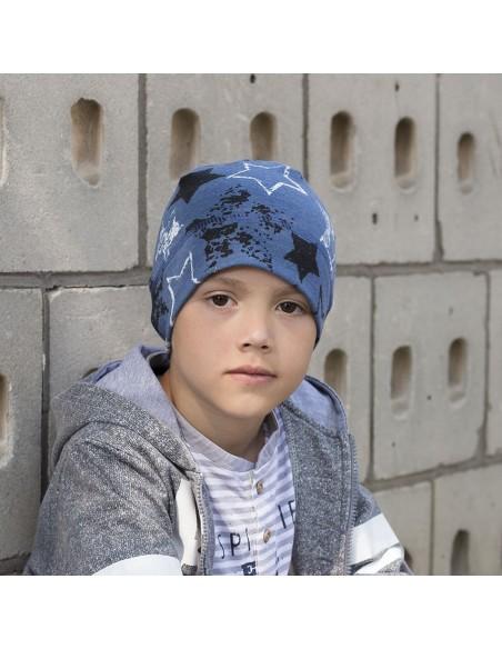 Dětská bavlněná čepice s potiskem