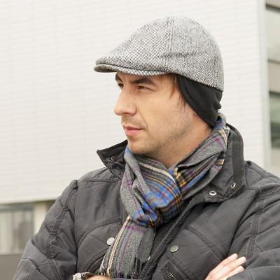 Vlněná čepice na uši