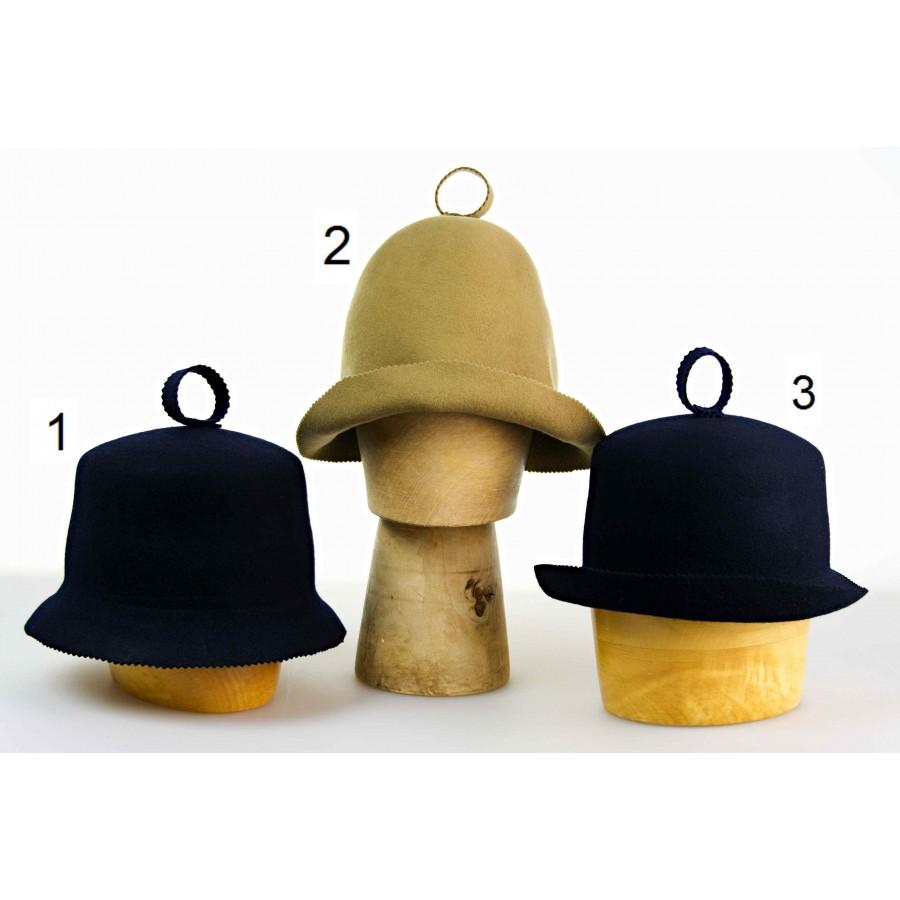 Čepice do sauny vyrobena ze 100% vlny. velikost univerzální barva tm ... 04d1ef950e