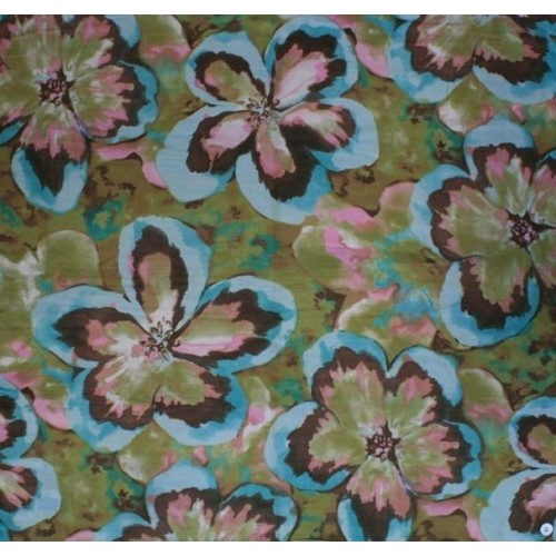 Dámský bavlněný šátek 90x90 vzorovaný