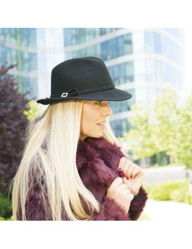 Vlněný klobouk pánského stylu