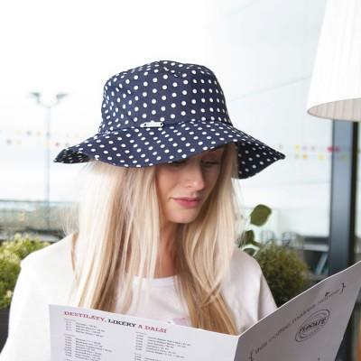 Dámský riflový klobouk s...